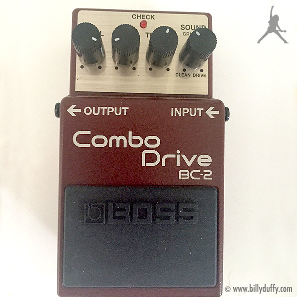 Billy Duffy's BOSS Combo Drive BC-2 Pedal