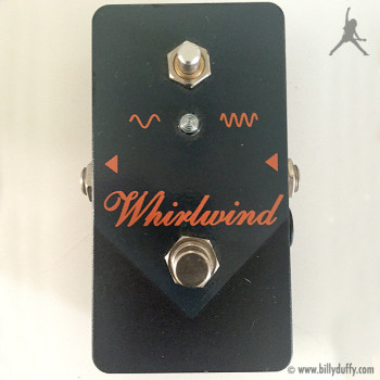 "Billy Duffy's Whirlwind The ""Orange Box"" Phaser Pedal"