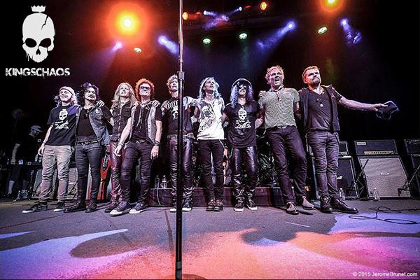 The whole gang. Photo © JeromeBrunet.com