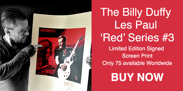 Billy Duffy Les Paul Red Series #3 - BUY NOW