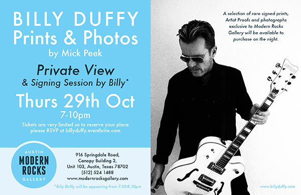 Billy Duffy Prints & Photos Show