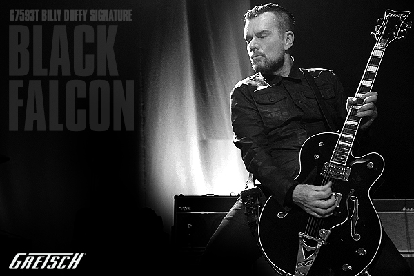 The Evil Twin - Billy Duffy Black Falcon