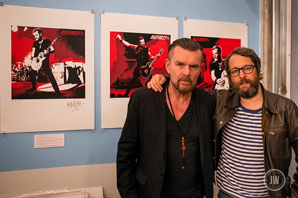 Billy Duffy & Modern Rock's Steven Walker