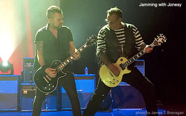 Billy Duffy Jamming with Jonesy