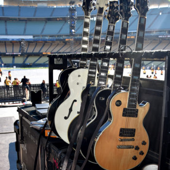 Guitars for the Dodger Stadium Show…