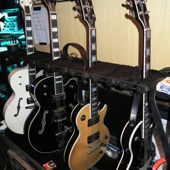 Billy's 'Alive in the Hidden City' Guitars