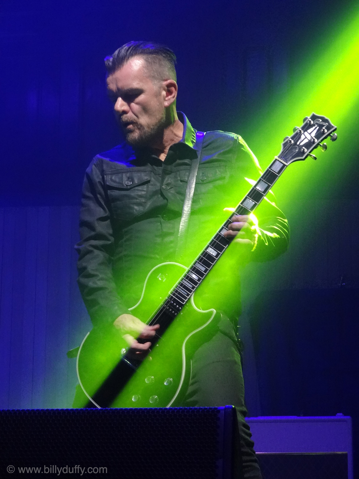 Caught in the spotlight... - Billy Duffy