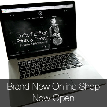 Brand New Billy Duffy Store Now Open
