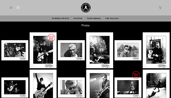 The Billy Duffy Online Store