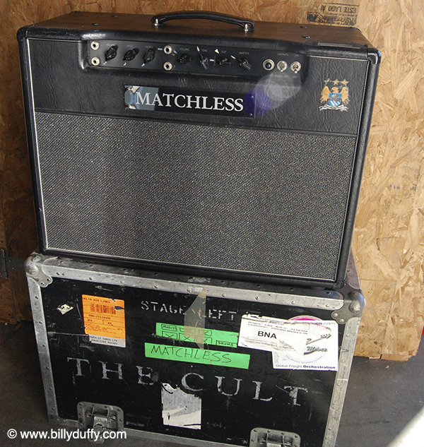 Billy Duffy's Matchless Amps for sale
