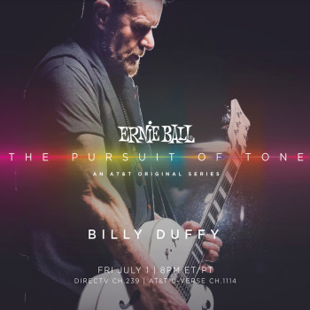 Billy Duffy in Ernie Ball's The Pursuit of Tone