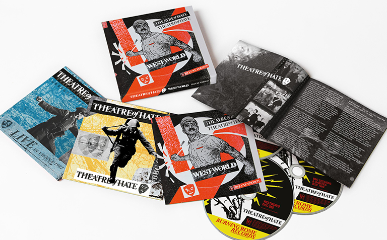 Theatre of Hate - Westworld Deluxe 3 CD Re-issue