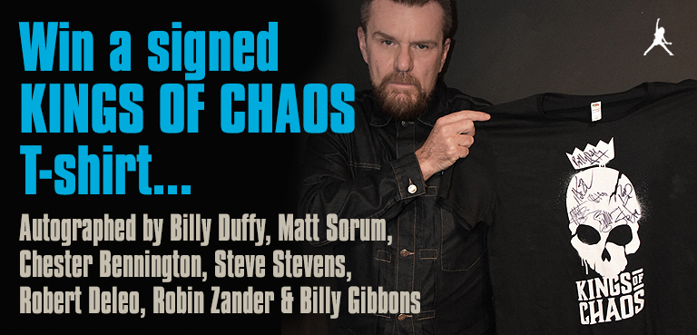Win a signed Kings of Chaos T-Shirt
