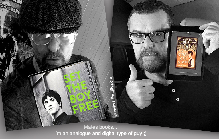 Billy Duffy in books by friends