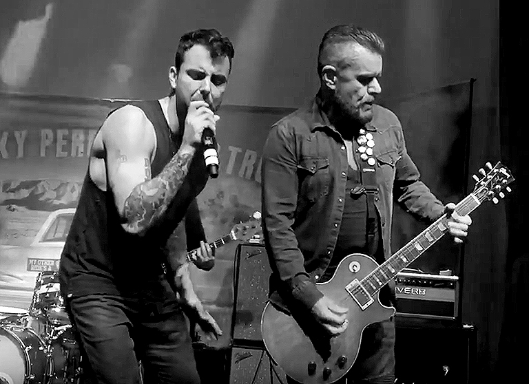 Franky Perez & Billy Duffy