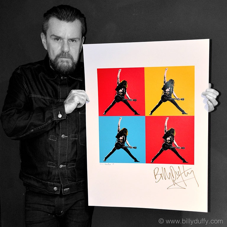 Signed Limited Edition Pop Art Poster