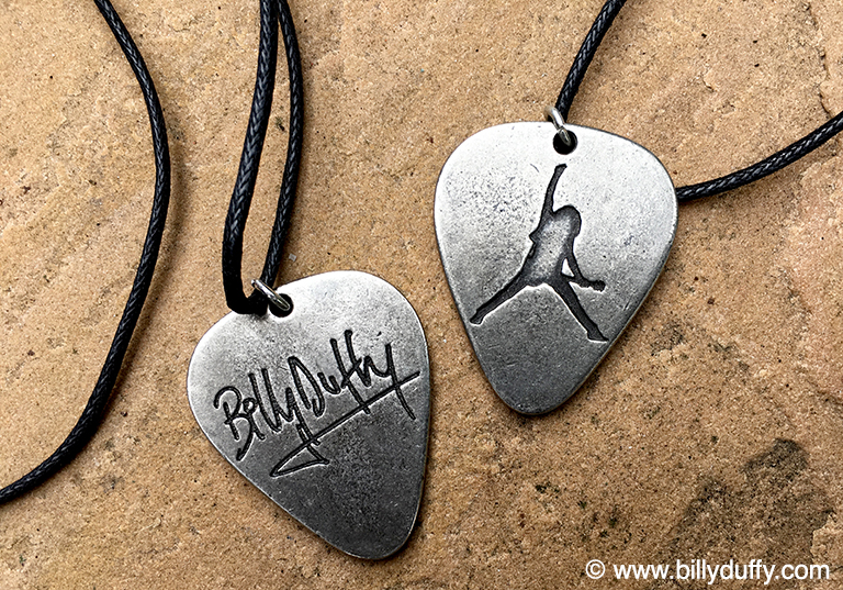 Billy Duffy Pewter Pendant