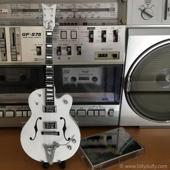 Billy Duffy Miniature White Falcon