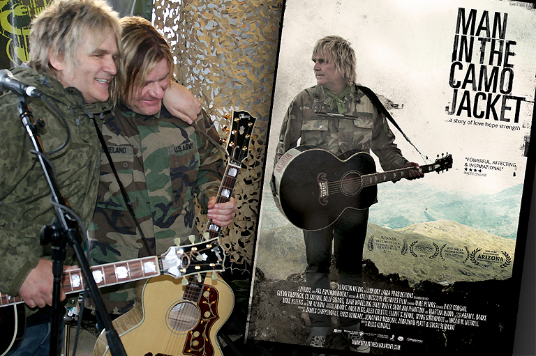 Billy Duffy & Mike Peters - The Man in the camo jacket
