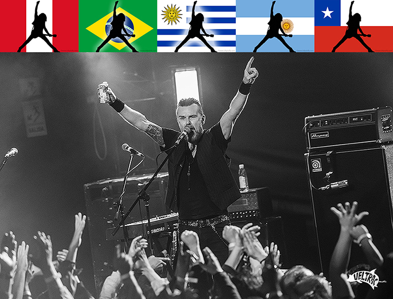 Billy Duffy in South America