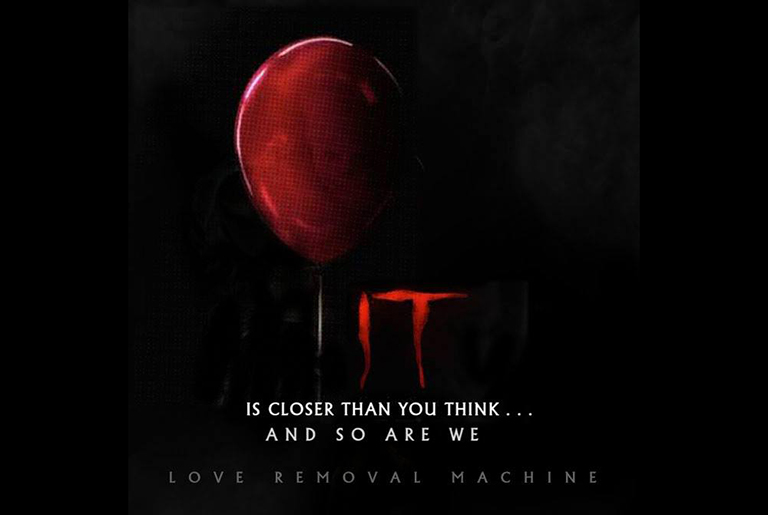 The Cult Love Removal Machine - IT Soundtrack
