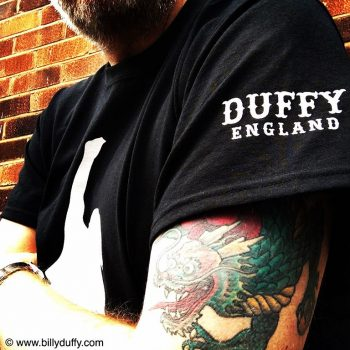 Brand New Billy Duffy T-Shirt Designs
