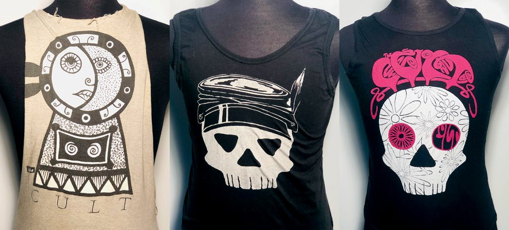 Billy Duffy's Dreamtime Era Tour T-shirts