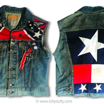 Billy's Electric Cut Off Denim Jacket