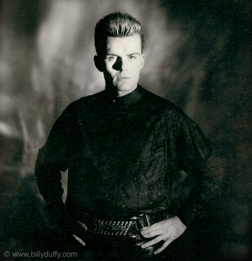 Billy Duffy - Portrait Shot 1985