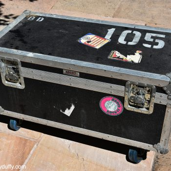 Billy's 'Ceremony' Personal Tour Flight Case