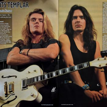 Billy & Jamie – Guitarist Magazine Jan 1990