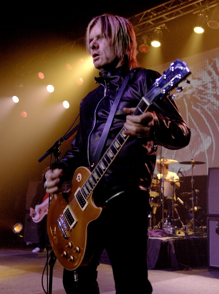 Billy Duffy live with The Cult in Ventura - 2007