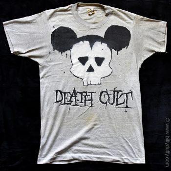 Death Cult Grey Tour T-shirt