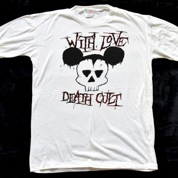 """""""WITH LOVE DEATH CULT"""" T-Shirt"""