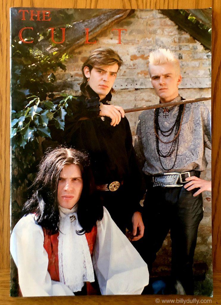 The Cult Japan Tour Programme - 1985