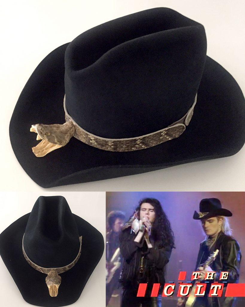 Billy Duffy's 'Lil' Devil' Snake Hat