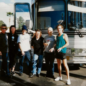 Tour Bus Team Shot – 1995