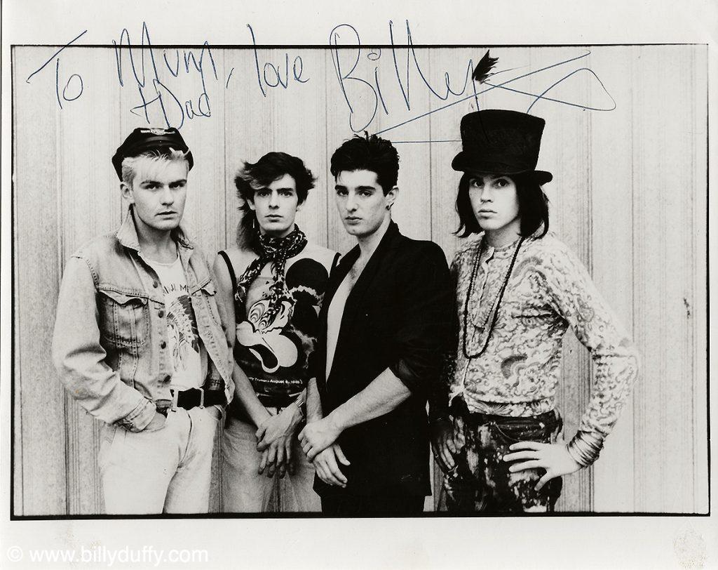 To Mum & Dad... 1984 Press Pic