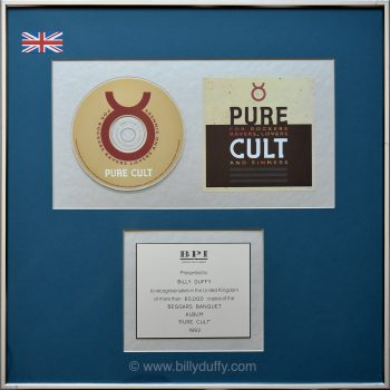 Billy's UK 'Pure Cult' Silver Disc