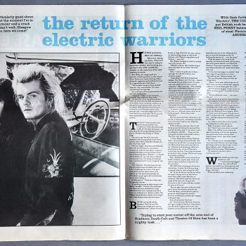 Return of the Electric Warriors – March 1987