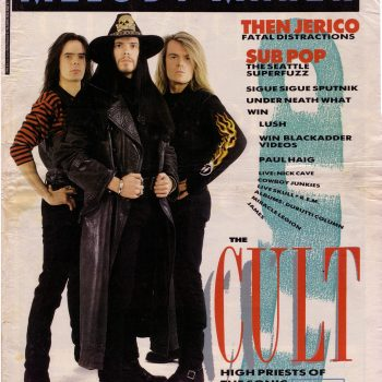 The Cult Melody Maker Cover – March 1989