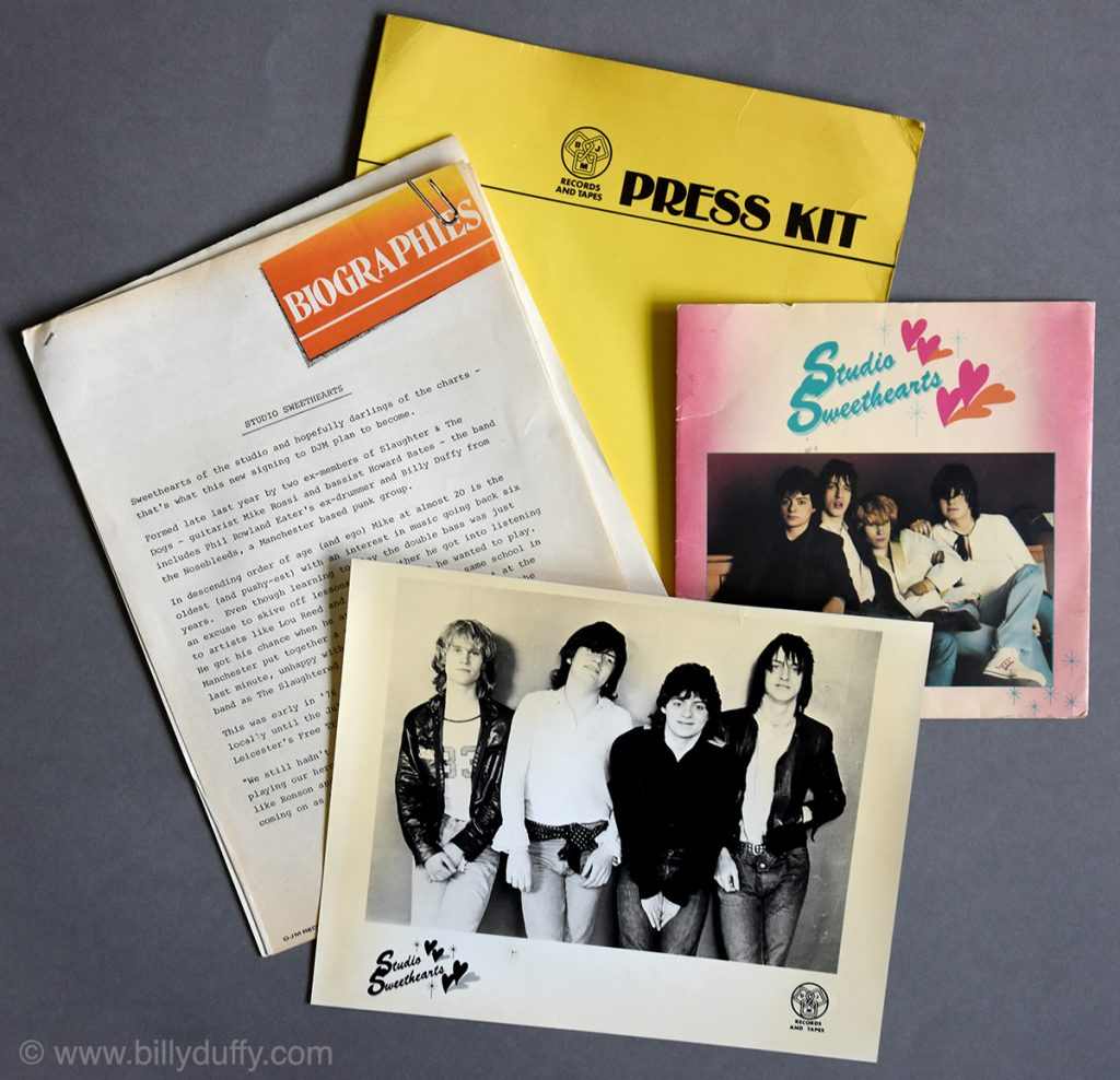 Studio Sweethearts 'I Believe' Single Press Kit - 1979