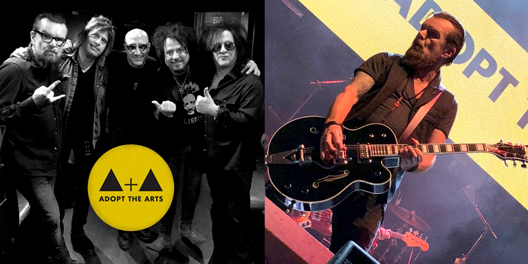 Billy Duffy & Kings of Chaos support Adopt The Arts