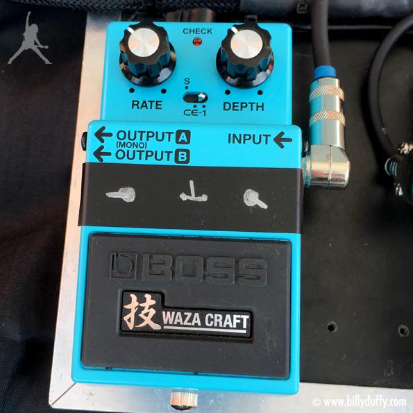 Billy Duffy's Boss Waza Craft Chorus Pedal