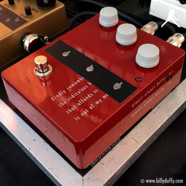 Billy Duffy's Klon KTR Overdrive Pedal