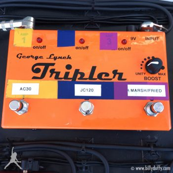 Billy Duffy's 'Tripler' Switchable Splitter Pedal
