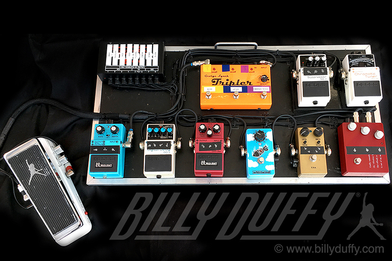 Billy Duffy Compact Pedal Board 2018