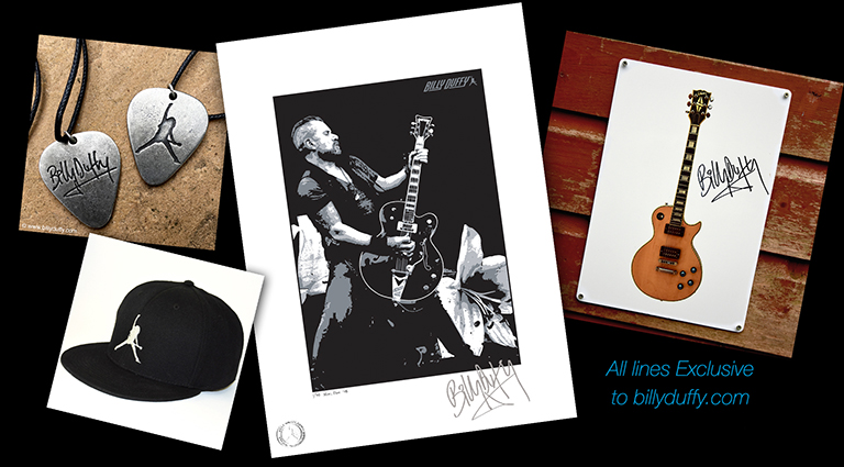 Billy Duffy Online Store