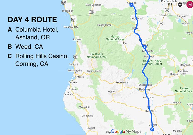 BD Road Trip Map Day 4