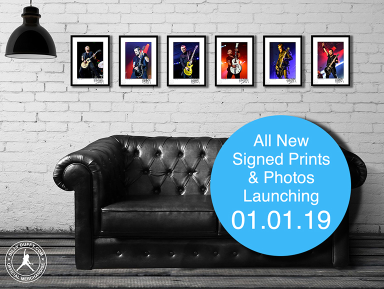 New signed photos launching 01.01.19